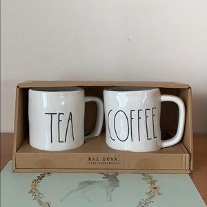 Rae Dunn Mug Set - Tea, Coffee